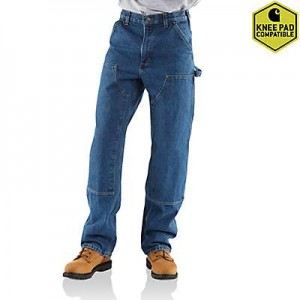 Loose / Original-Fit Washed Logger Double-Front Work Jean
