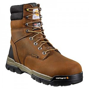 Ground Force 8-Inch Composite Toe Work Boot