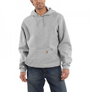 Hooded Pullover Midweight Sweatshirt