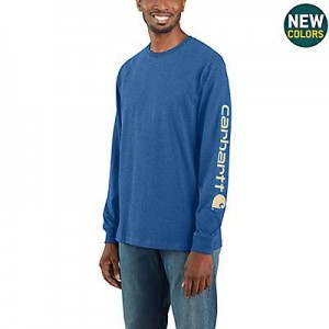 Workwear Long-Sleeve Graphic Logo T-Shirt