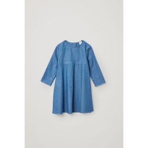 A-LINE COTTON DRESS