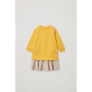 COLOR-BLOCK COTTON DRESS