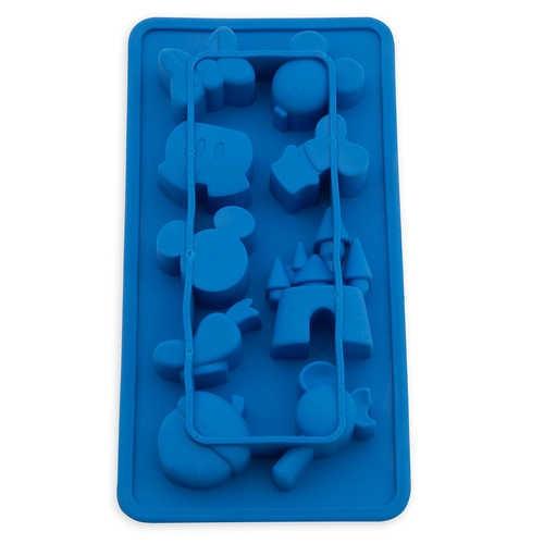 디즈니 Mickey Mouse and Friends Colorful Kitchen Silicone Ice Cube Tray