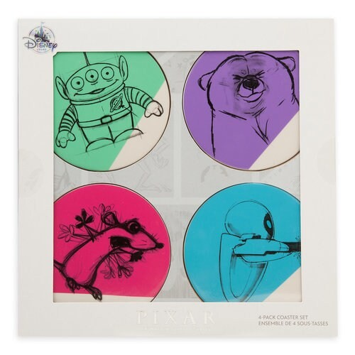 디즈니 Pixar Animation Studio Series Coaster Set