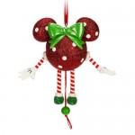 Dancing Minnie Mouse Icon Ornament