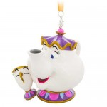 Mrs. Potts and Chip Figural Ornament - Beauty and the Beast