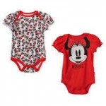 Minnie Mouse Bodysuit Set for Baby - Red