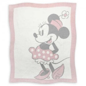 Minnie Mouse Baby Blanket by Barefoot Dreams