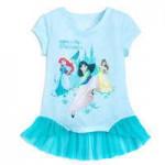 Disney Princess Top for Girls - Walt Disney World - Aqua