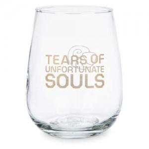 Ursula Stemless Wine Glass - The Little Mermaid