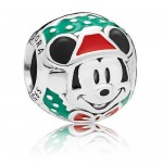 Santa Mickey Mouse Bead Charm by PANDORA