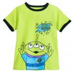 Toy Story Alien Ringer T-Shirt for Boys