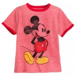 Mickey Mouse Classic Ringer T-Shirt for Boys