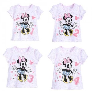 Minnie Mouse I Am . . . Birthday Tee for Girls