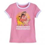 The Lion King Ringer T-Shirt for Girls