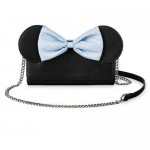Minnie Mouse Chambray Bow Crossbody Bag