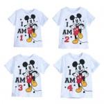 Mickey Mouse I Am . . . Birthday Tee for Boys