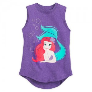 Ariel Tank Top for Girls - The Little Mermaid