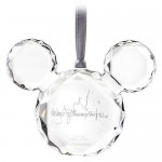 Mickey Mouse Icon Faceted Flat Ornament - Walt Disney World