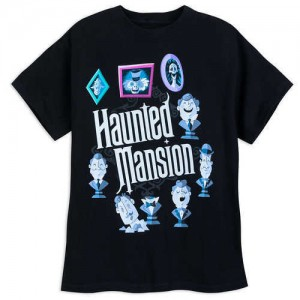 The Haunted Mansion Glow-in-the-Dark T-Shirt for Kids