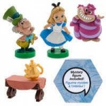 Disney Animators Collection Littles Five Figure Set with Mystery Figure - Alice in Wonderland