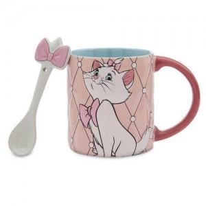 Marie Mug and Spoon Set - The Aristocats