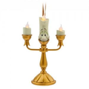 Lumiere Light-Up Figural Ornament - Beauty and the Beast