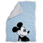 Mickey Mouse Color Toddler Quilt by Ethan Allen