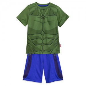 Hulk T-Shirt and Shorts Set for Boys