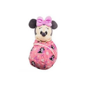 Minnie Mouse Plush in Pouch - Disney Babies - Small