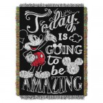 Mickey Mouse Woven Tapestry Throw