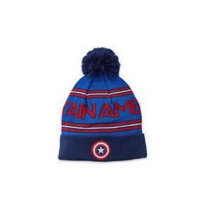 Captain America Knit Bobble Hat for Kids