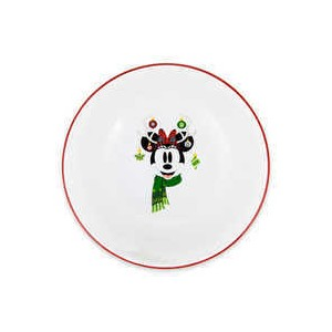 Minnie Mouse Holiday Cereal Bowl