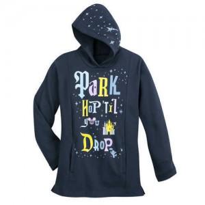 Disney Parks Park Hop Til You Drop Hoodie for Kids