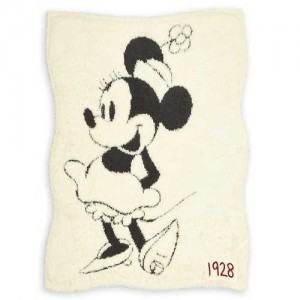 Minnie Mouse Reversible Baby Blanket by Barefoot Dreams