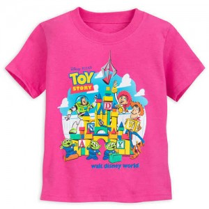 Toy Story Land T-Shirt for Kids - Pink