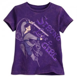 Mulan Mineral Wash T-Shirt for Girls