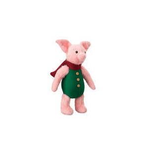 Piglet Plush - Christopher Robin - Medium