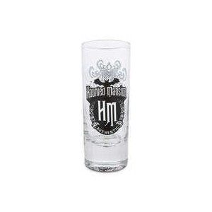 The Haunted Mansion Mini Glass