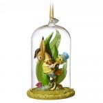 Jiminy Cricket Glass Dome Sketchbook Ornament - Pinocchio