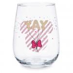 Minnie Mouse Stemless Wine Glass