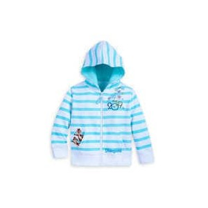 Mickey Mouse and Friends Zip-Up Hoodie for Kids - Disneyland 2019