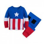 Captain America Costume PJ PALS for Baby