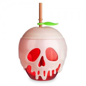 Snow White Poisoned Apple Tumbler with Straw - Oh My Disney