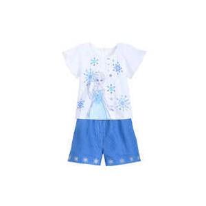 Elsa Shirt and Shorts Set for Girls