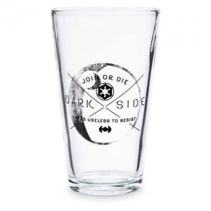 Star Wars Dark Side Drinking Glass