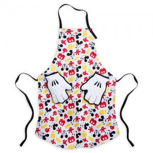 Mickey Mouse Apron and Oven Mitt Set for Adults - Disney Eats