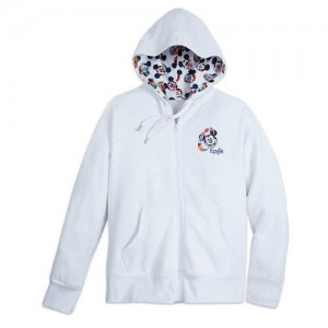 Mickey Mouse Zip Hoodie for Women - Epcot