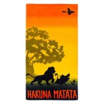The Lion King Hakuna Matata Beach Towel