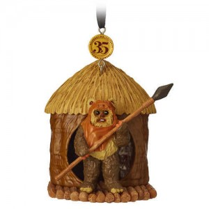 Wicket Legacy Sketchbook Ornament - Star Wars: Return of the Jedi - Limited Release